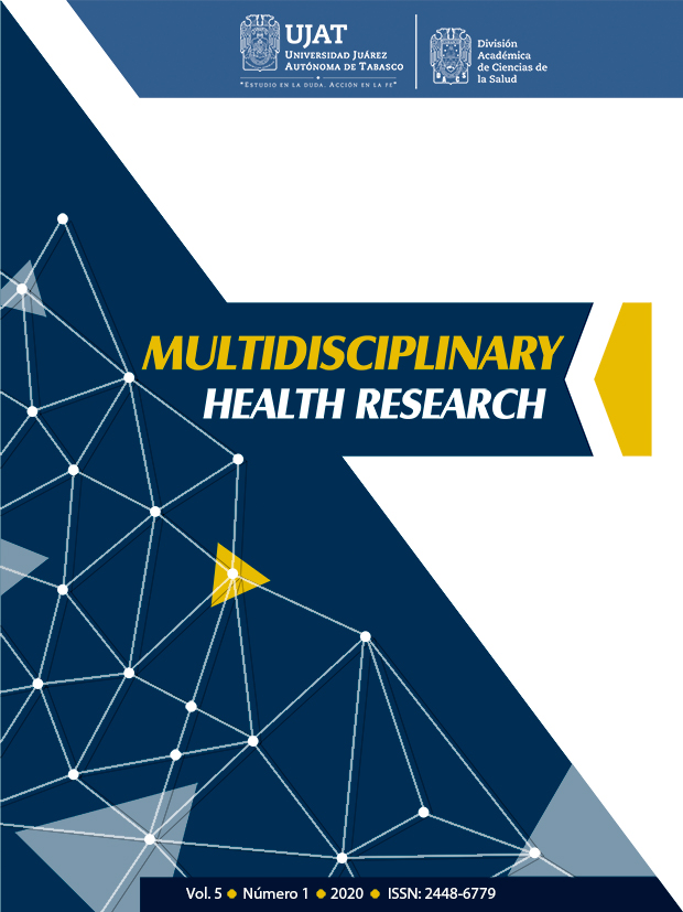 Ver Vol. 5 Núm. 1 (2020): Multidisciplinary Health Research