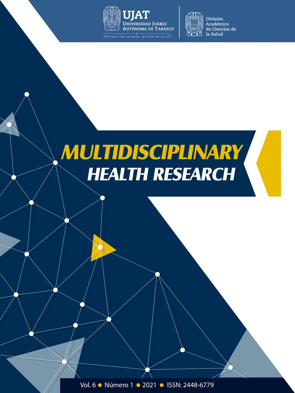 Ver Vol. 6 Núm. 1 (2021): Multidisciplinary Health Research
